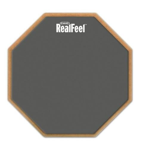 Evans 12 Real Feel 2-Sided Practice Pad RF12D