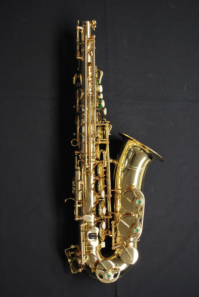 Hollywood Winds Int Alto Sax 1 Yr. Guarantee on Pads, Corks, Felts & Adj.