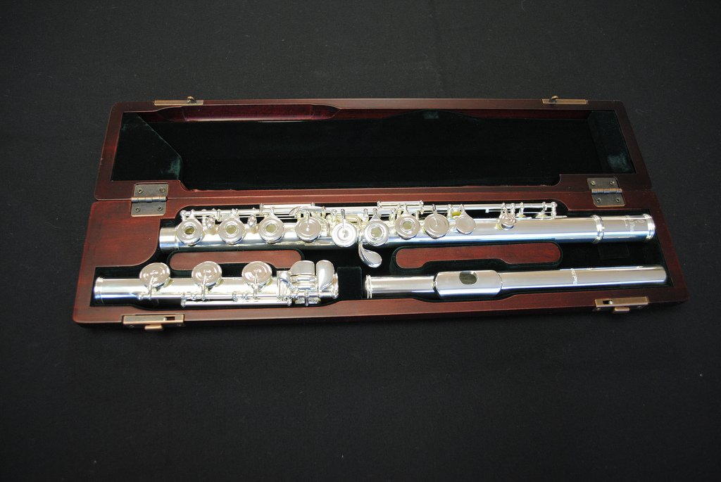 Pearl Professional Open Hole Flute 1 Yr. Guarantee on Pads, Cork, Felts & Adj.