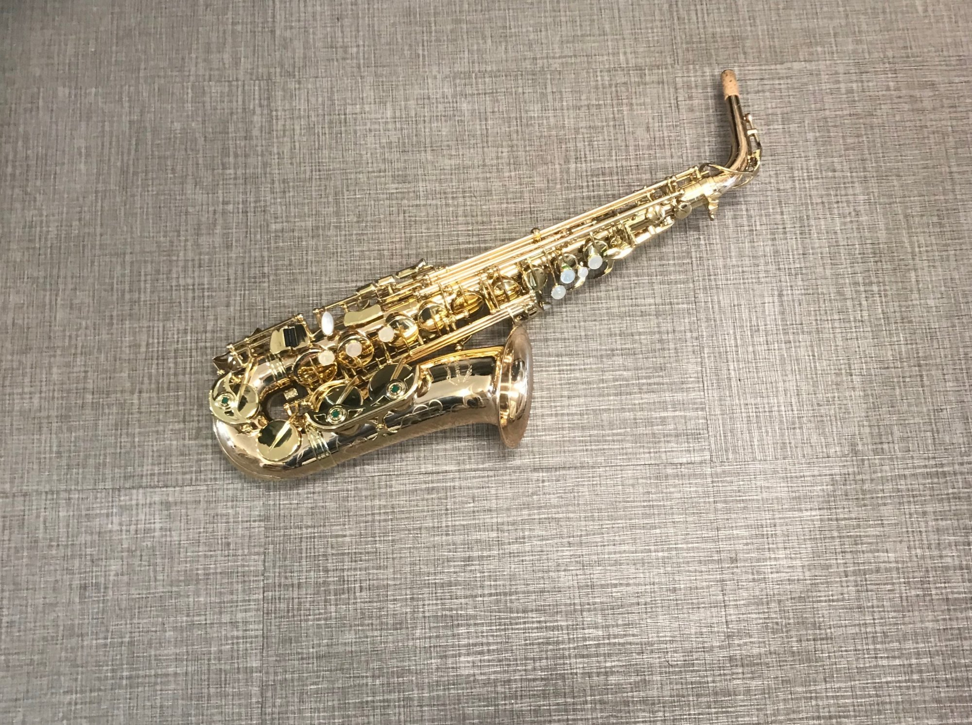Chateau CAS-80GL Alto Saxophone Professional Gold Lacquer - NEW