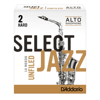 Select Jazz Unfiled Alto Saxophone Reeds