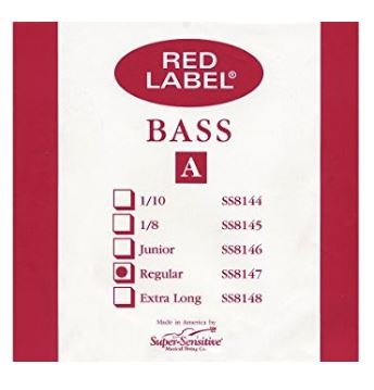 Red Label String Bass A String