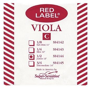 Red Label Viola C String