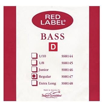 Red Label String Bass D String