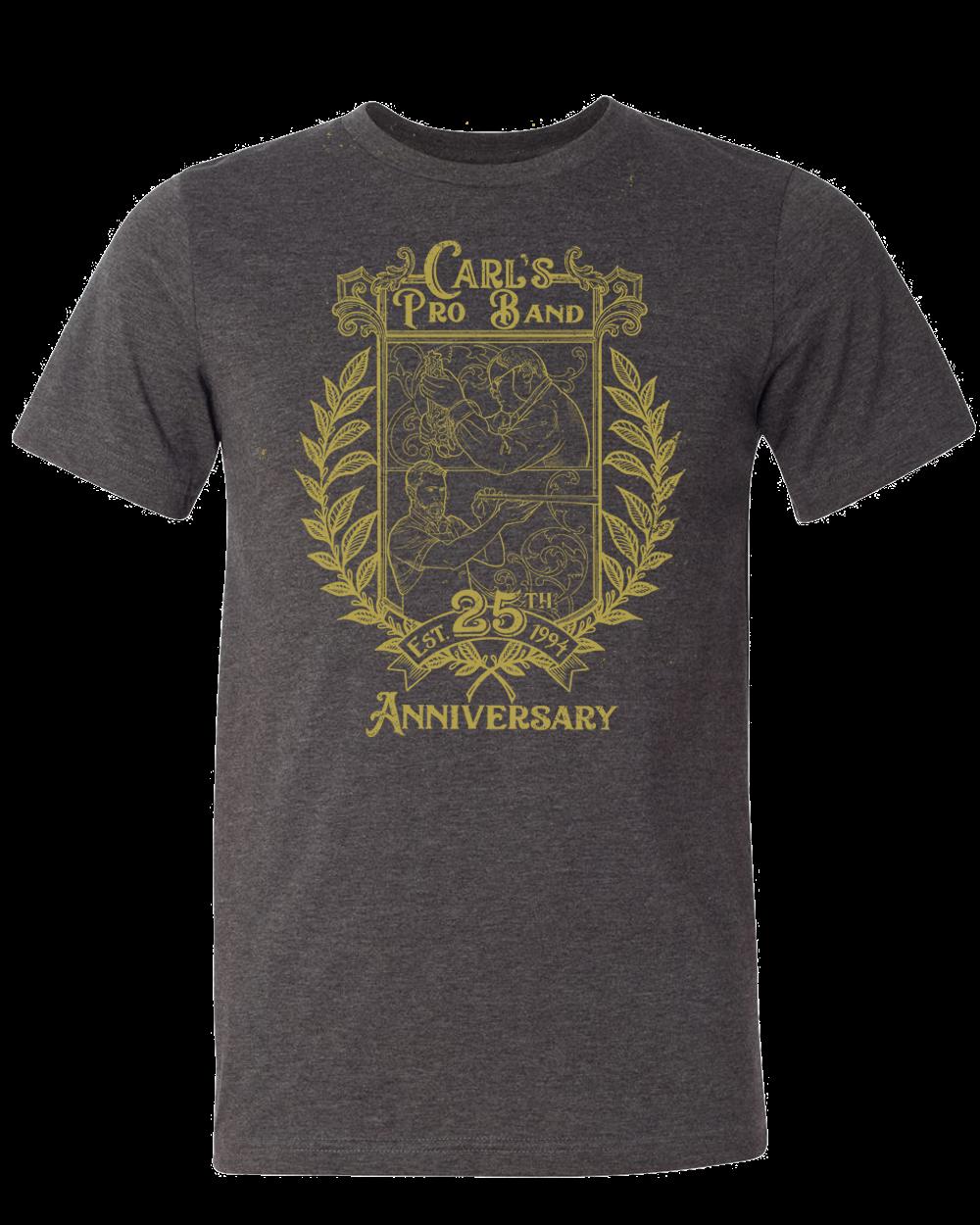 CPB 25th Anniversary Shirt - Dark Gray Heather