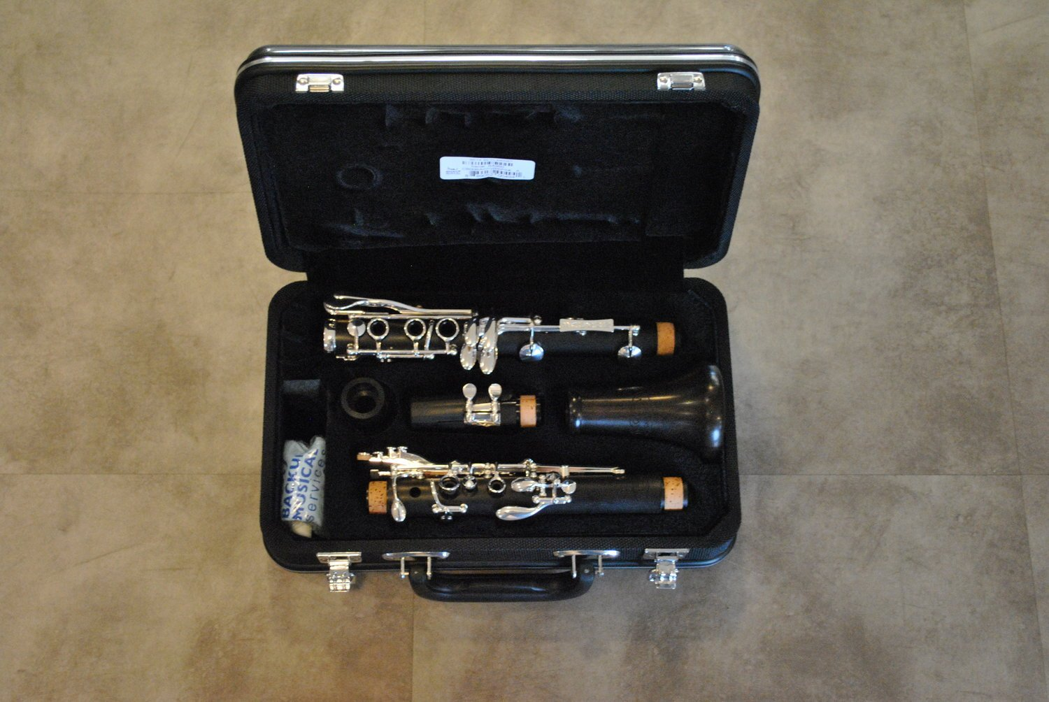Backun Beta Bb Clarinet Intermediate Wood - NEW