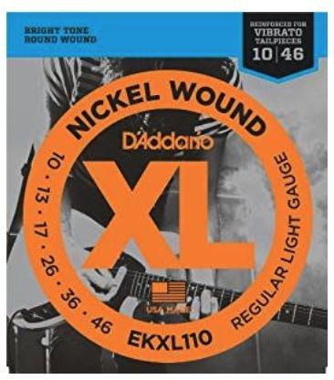 D'Addario Nickel Wound Strings