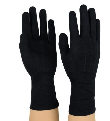 Black Marching Gloves