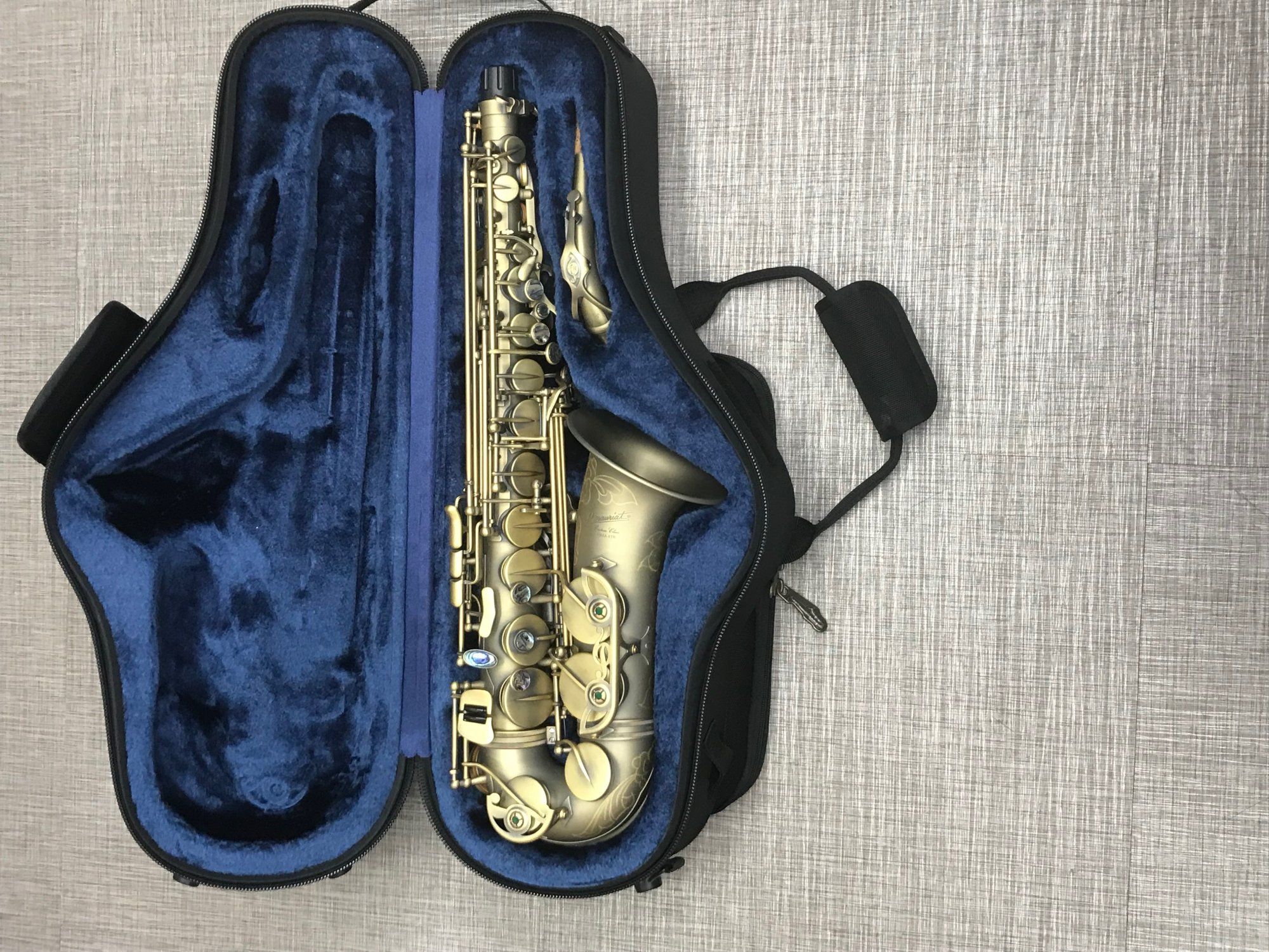 P. Mauriat PMXA-67RDK Alto Saxophone Professional Matte Lacquer - DEMO