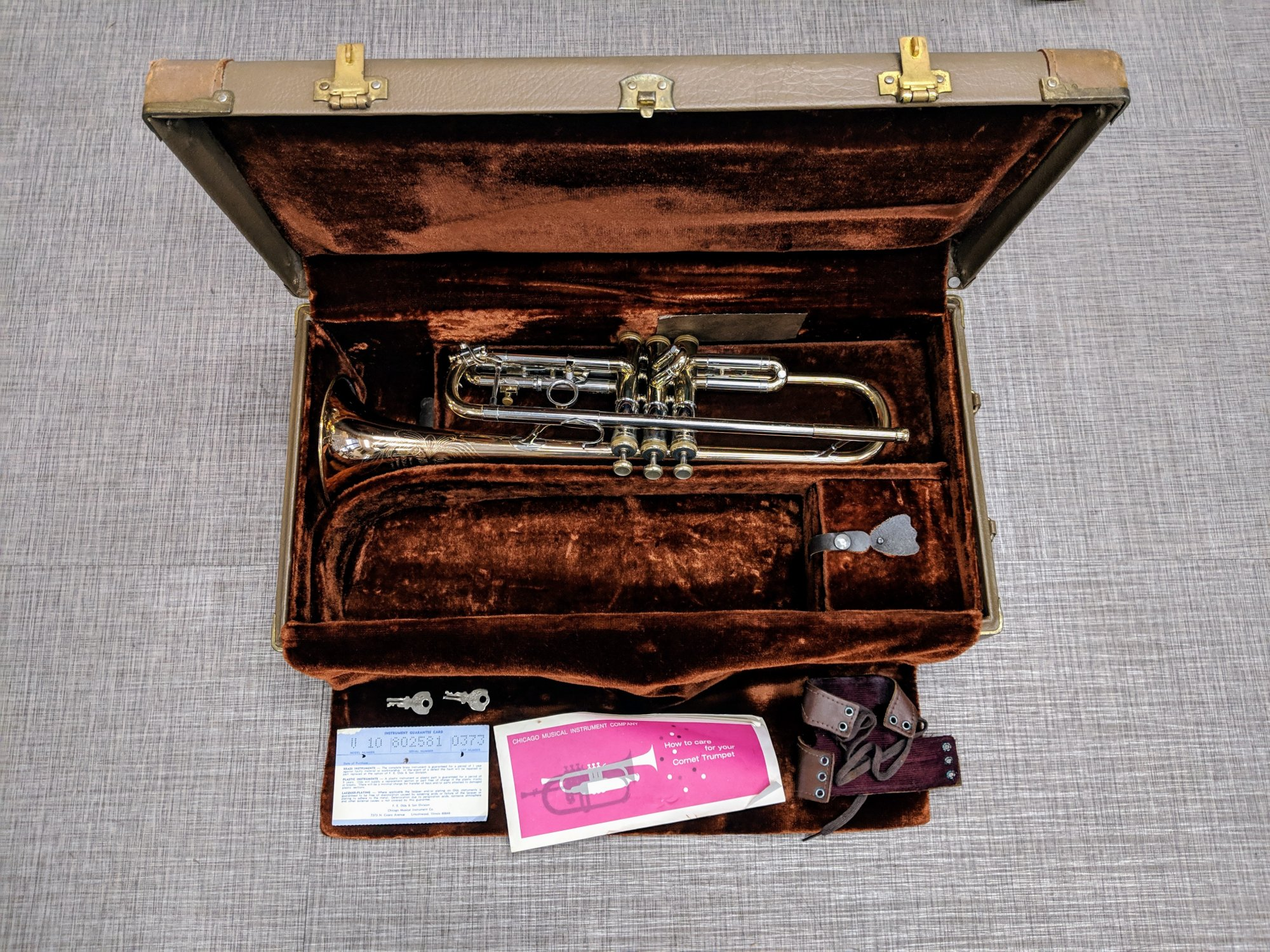 Olds Recording Trumpet - Used Vintage Fullerton