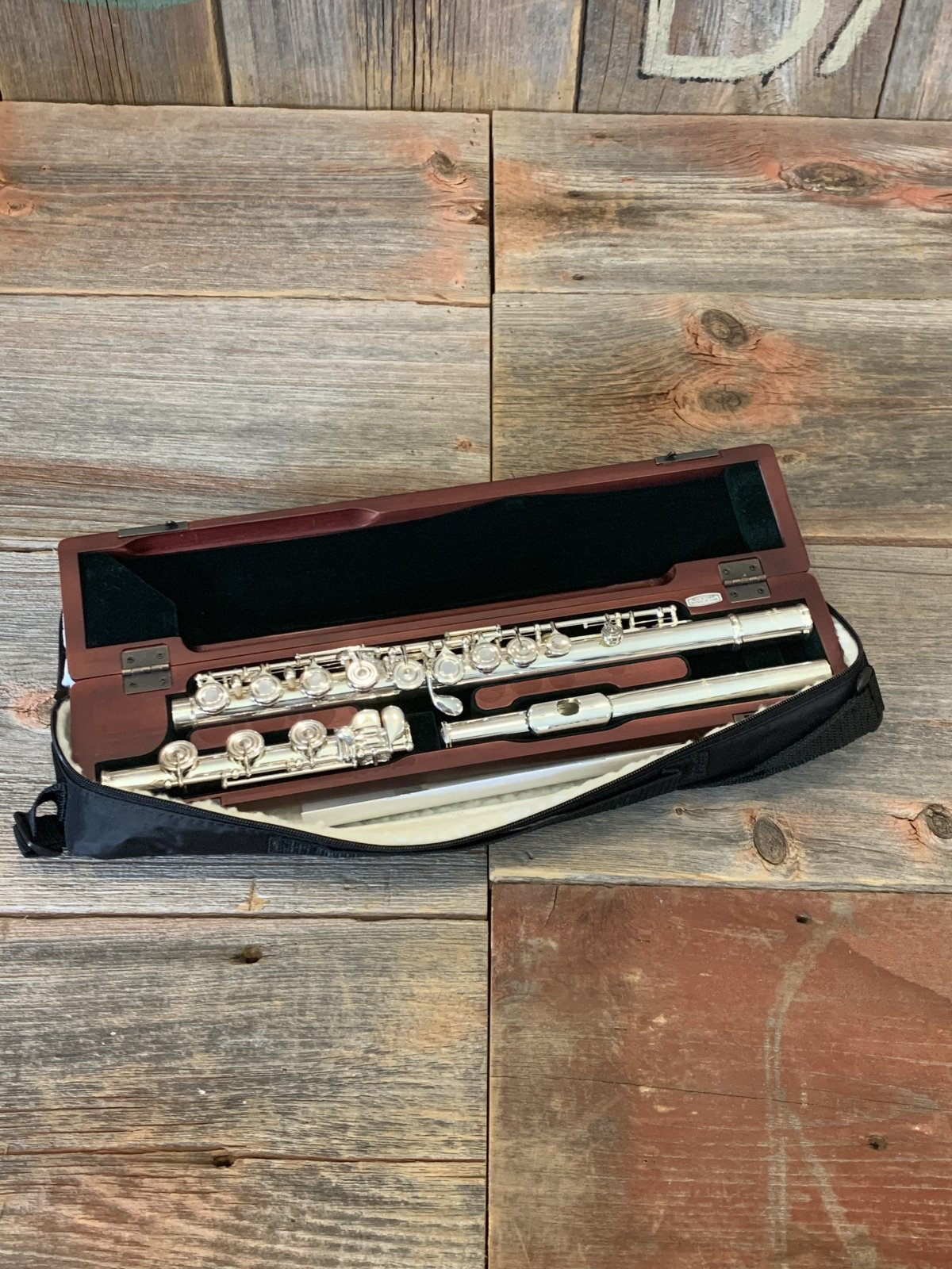 Pearl PF-795RBE2RB Flute Professional Open Hole - NEW