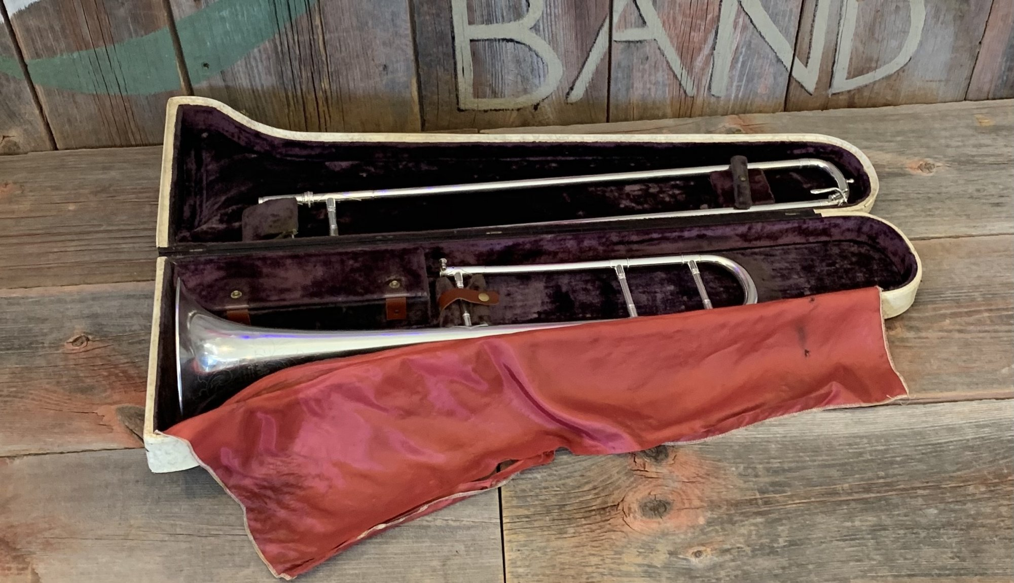 Vintage Martin Handcraft Tenor Trombone