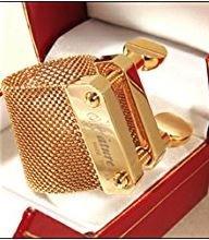 Oleg Olegature Alto Saxophone Ligature 2G Gold Plated