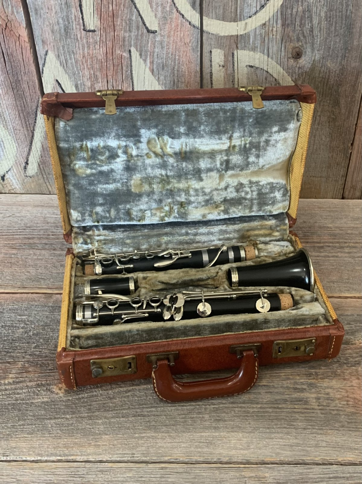 Penzel Clarinet Key of A Wood - Vintage