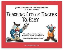 Teaching Little Finger to Play by John Thompson - Piano