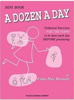 Mini Book A Dozen A Day by Edna-Mae Burnam - Piano