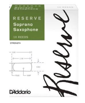 D'Addario Reserve Soprano Saxophone Reeds