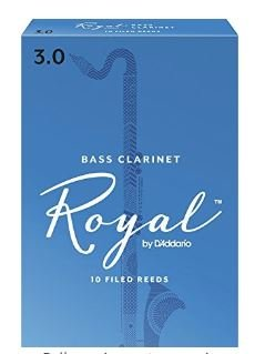 Royal Bass Clarinet Reeds