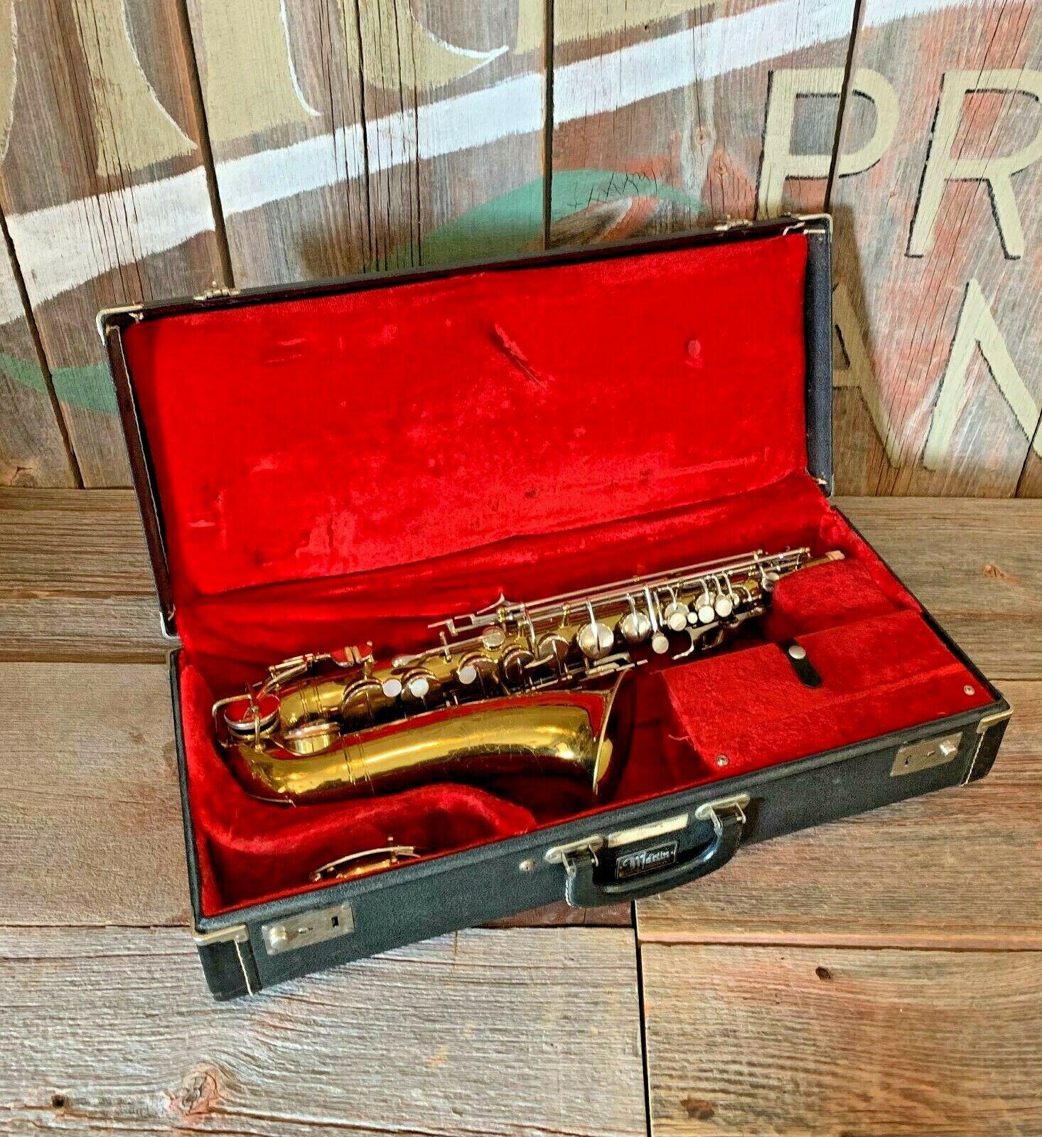 Vintage 1970's Martin Imperial Alto Saxophone