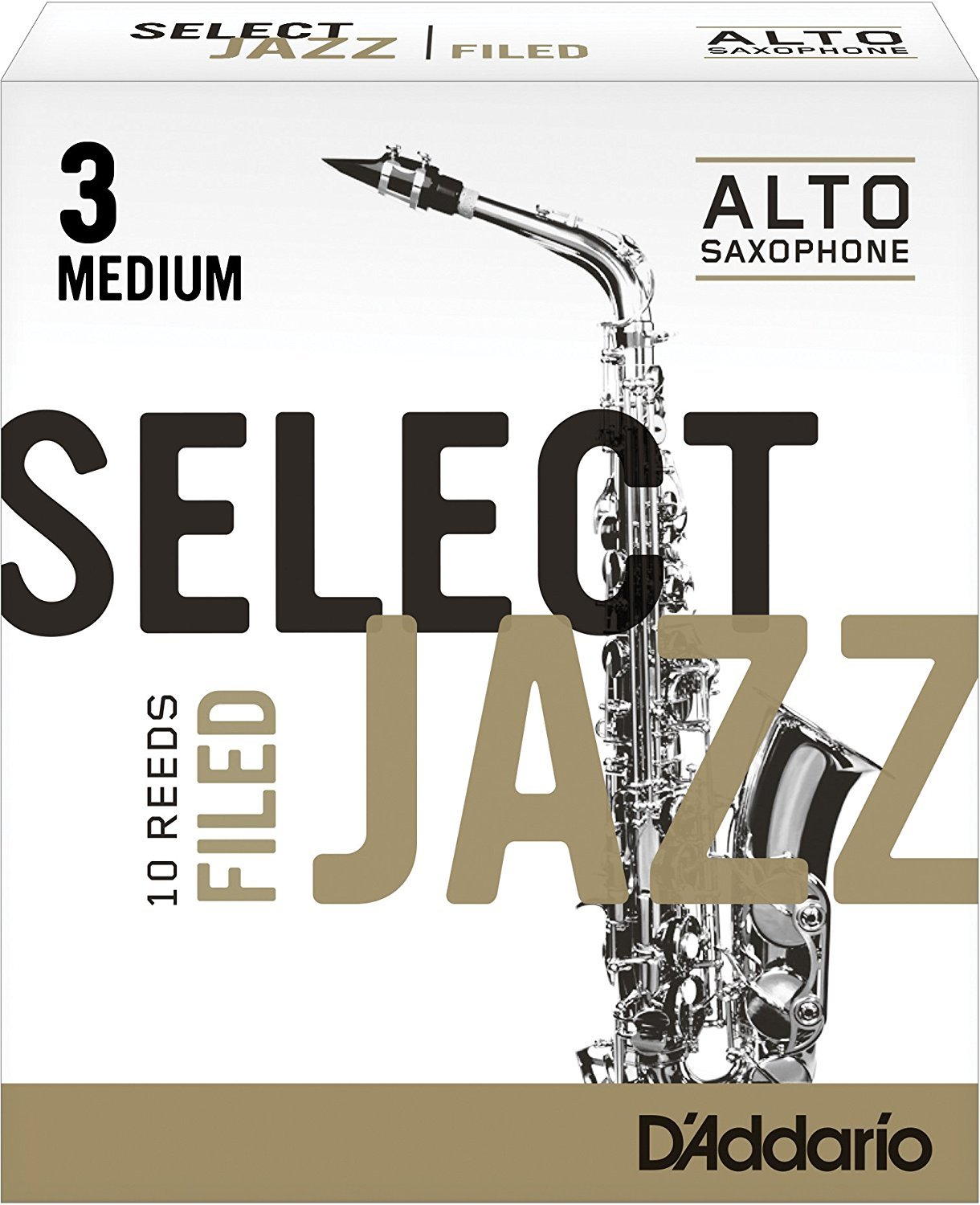 Select Jazz Filed Alto Saxophone Reeds