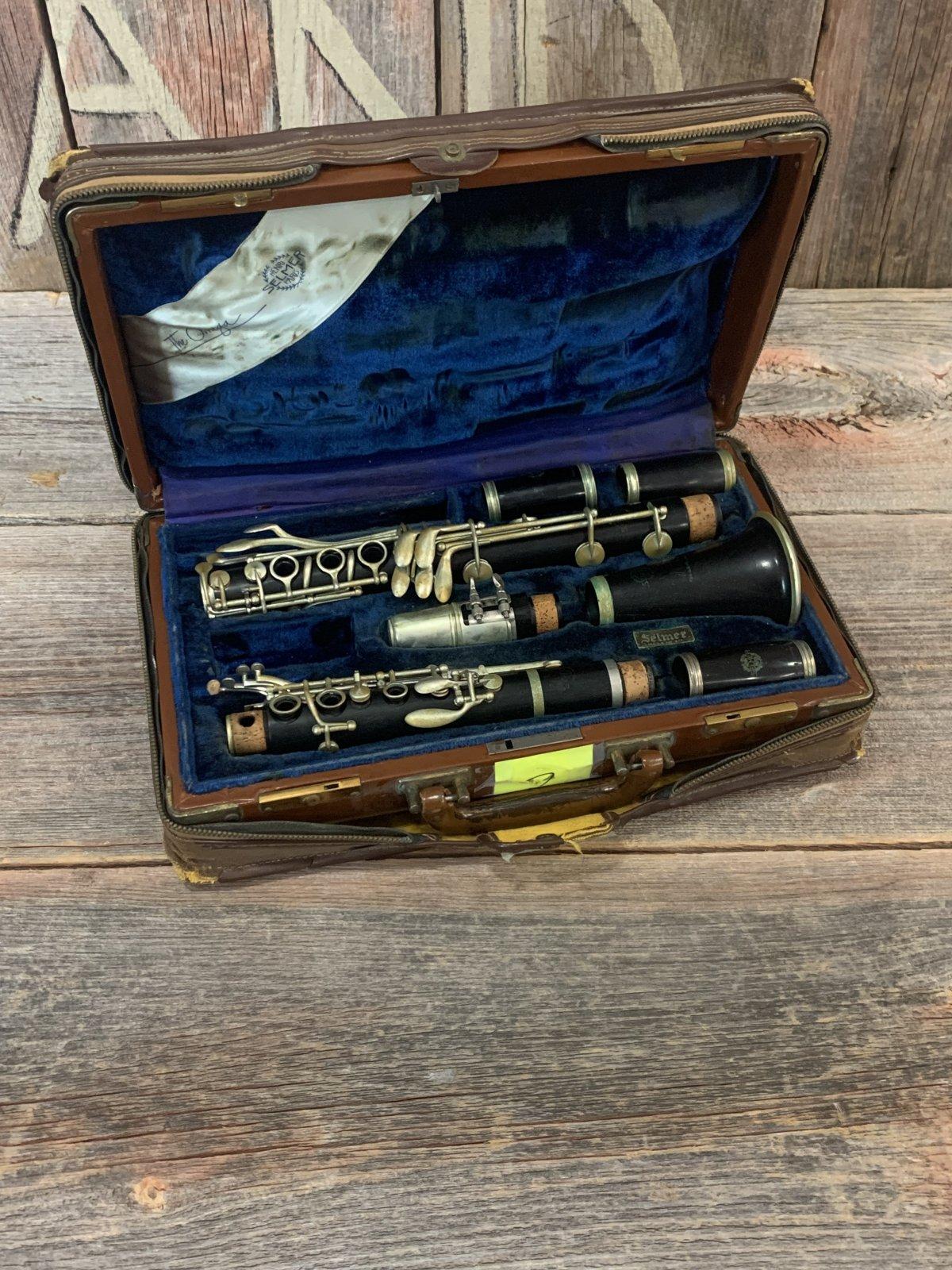 Selmer Paris Clarinet Full Boehm Extended Range 1927