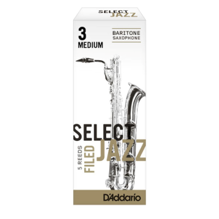 Select Jazz Filed Bari Saxophone Reeds