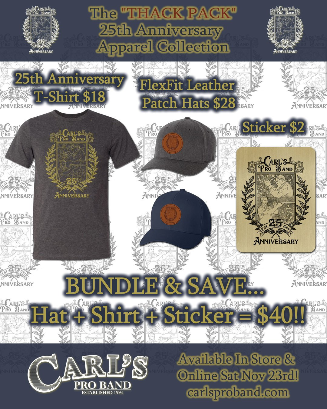 CPB 25th Anniversary Thack Pack Bundle