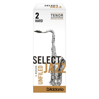Select Jazz Unfiled Tenor Saxophone Reeds
