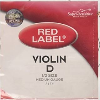Red Label Violin D String