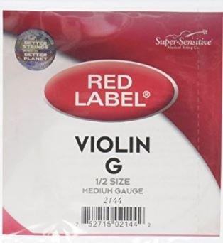 Red Label Violin G String