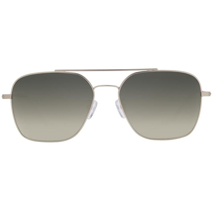 Ace Brushed Silver + G15 Gradient Polarized Lens