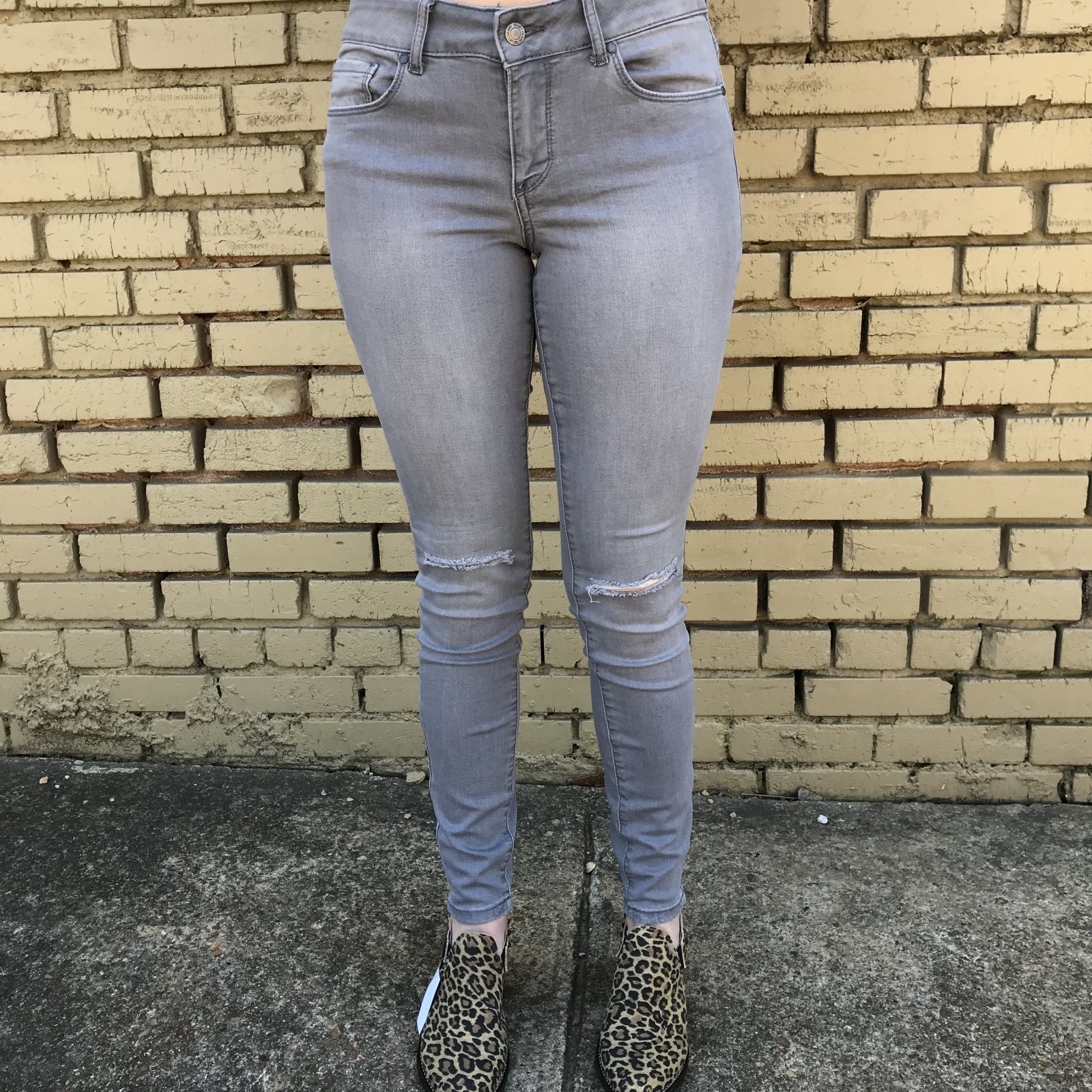 Avani Classic Grey Skinny Jeans