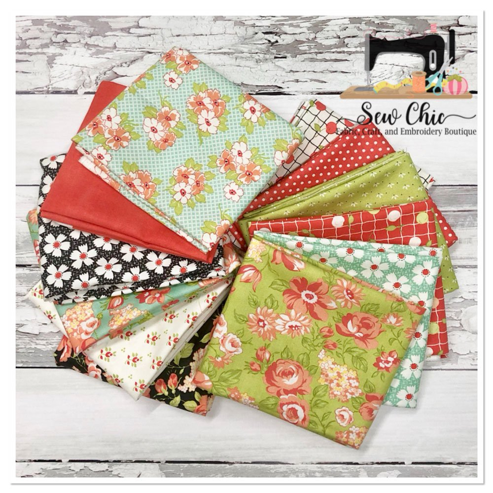 Farmhouse II Fat Quarter Bundle