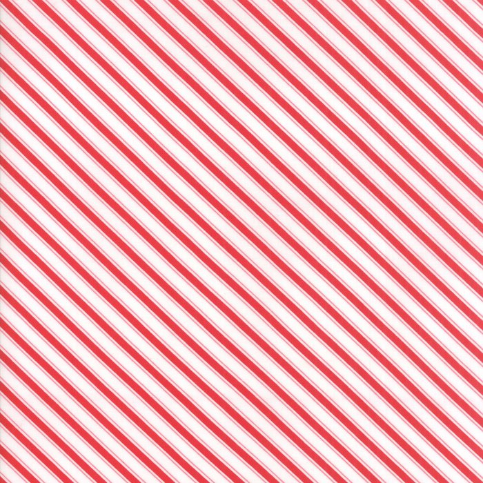 Mama's Cottage by Moda Apple Red Stripe