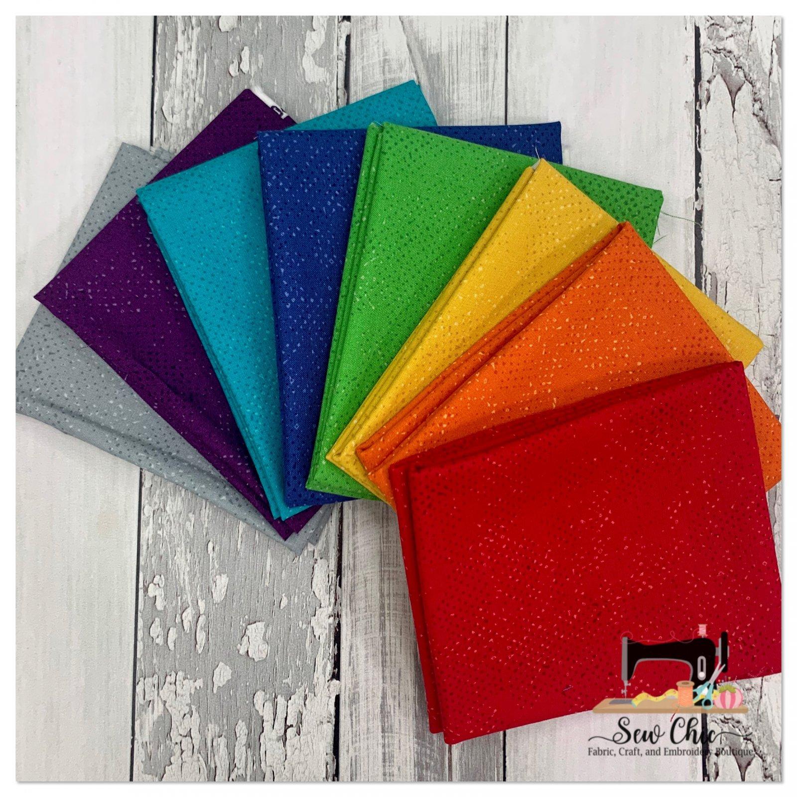 Spotted Rainbow Fat Quarter Bundle