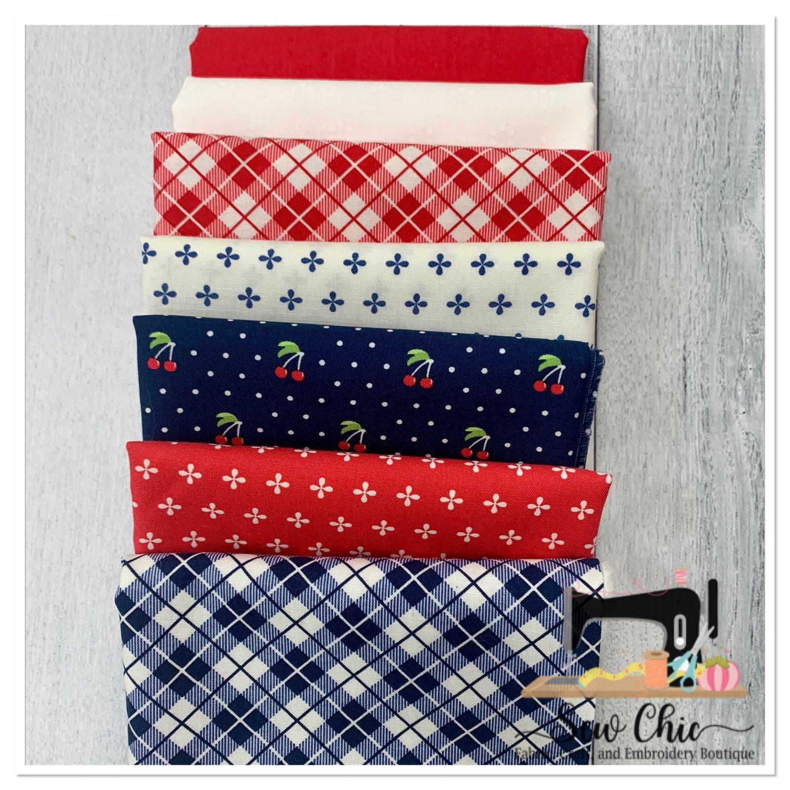Flag Star Pillow Kit