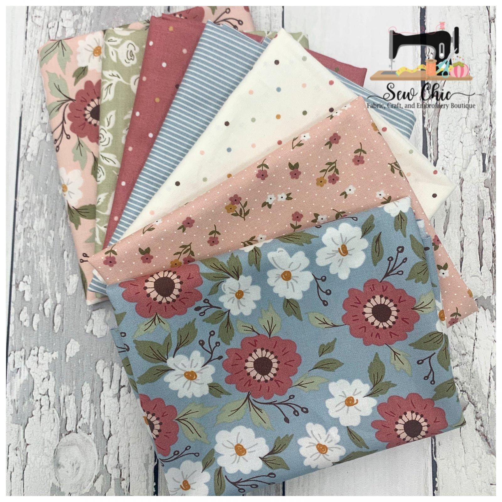 Folktale mini Fat Quarter Bundle 6 fabrics