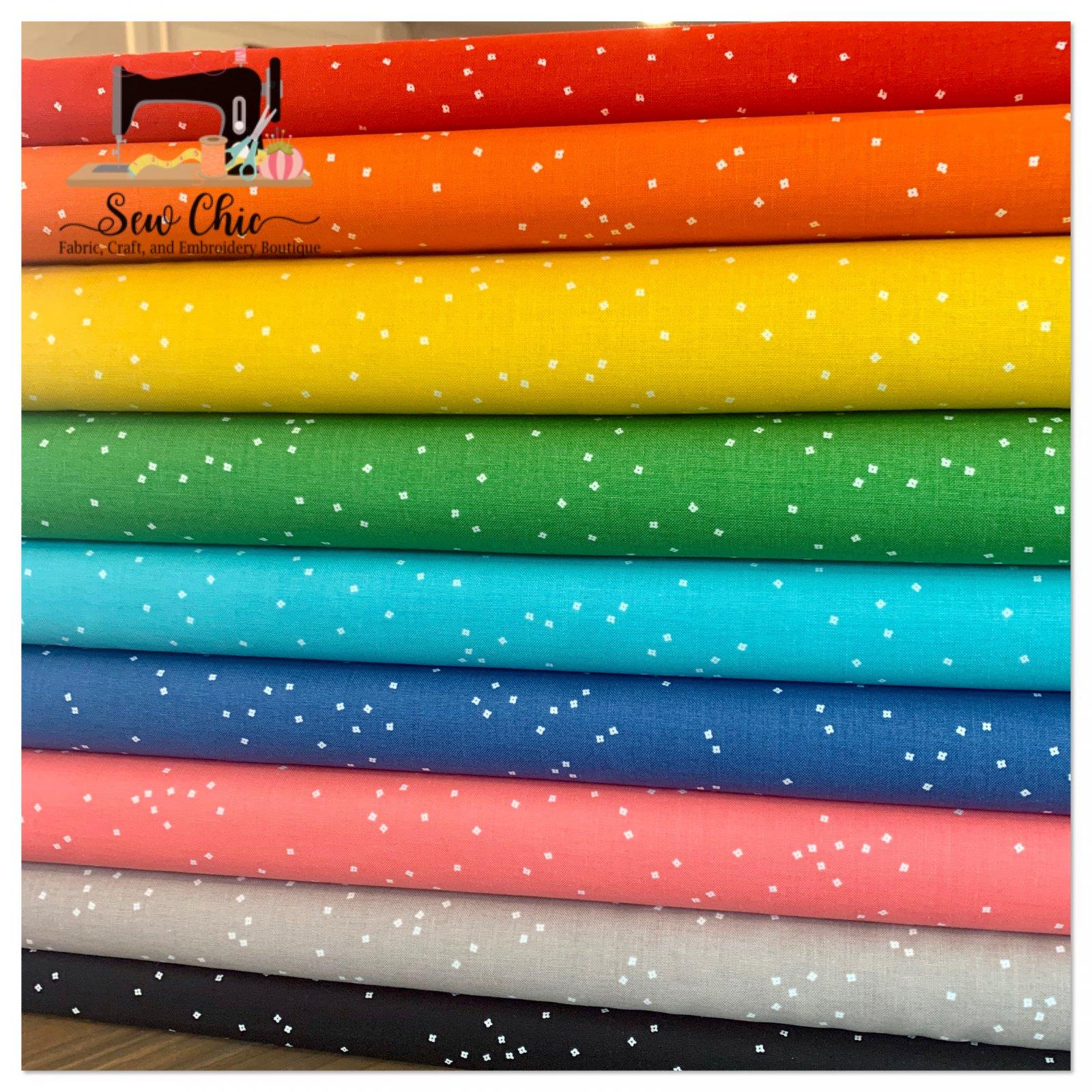 Blossom Rainbow Fat Quarter Bundle 9 fat quarters