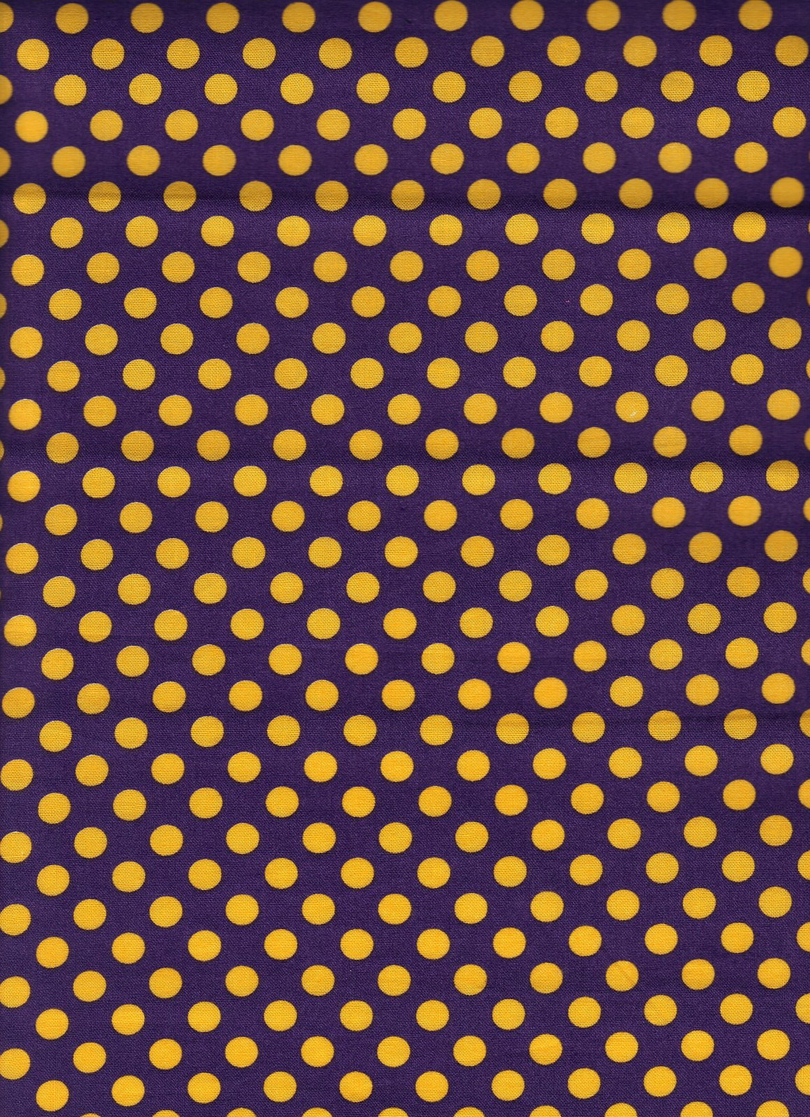 Purple and Gold Dot