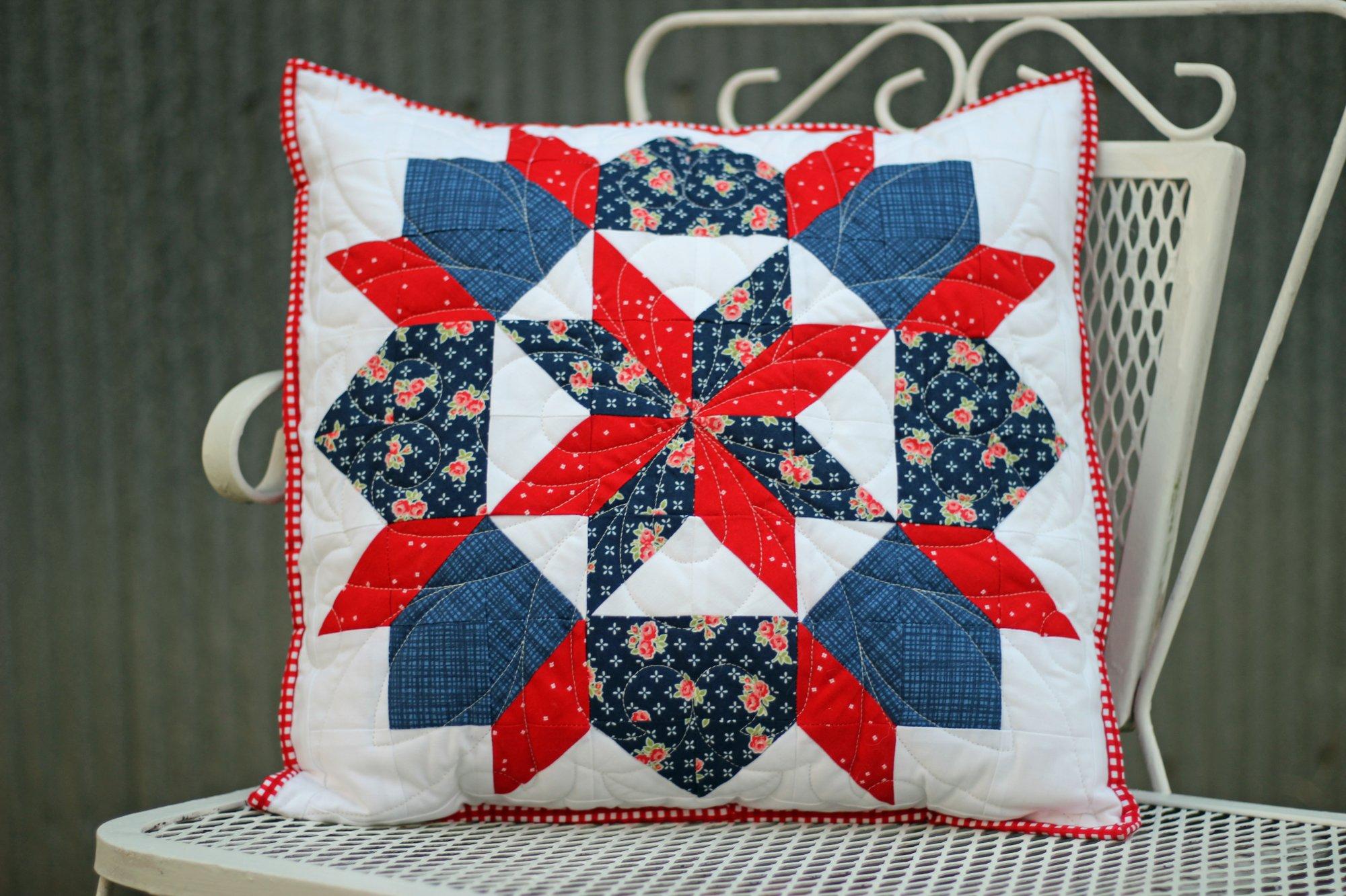 Dutch Rose Pillow Kit