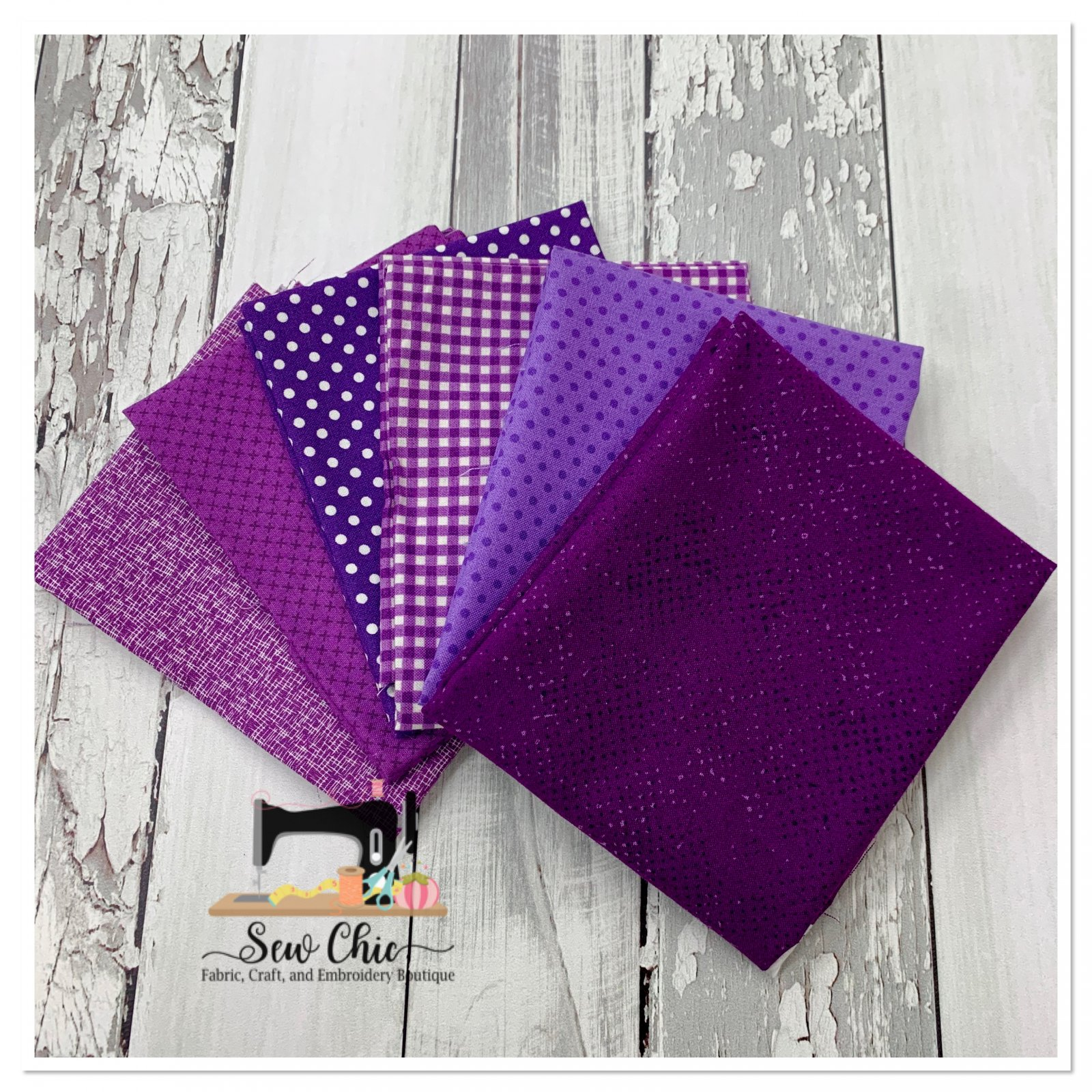 Need a Little Purple Fat Quarter Bundle