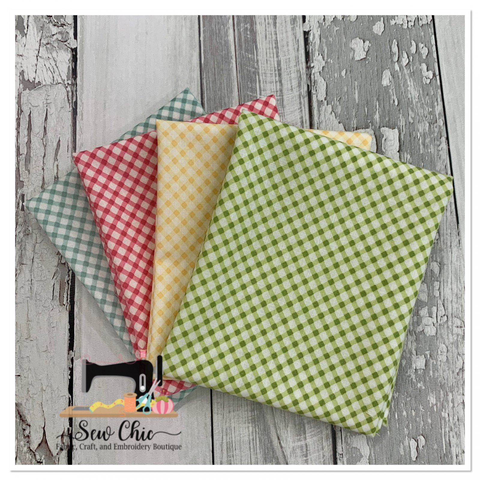 Amberley Check Fat Quarter Bundle