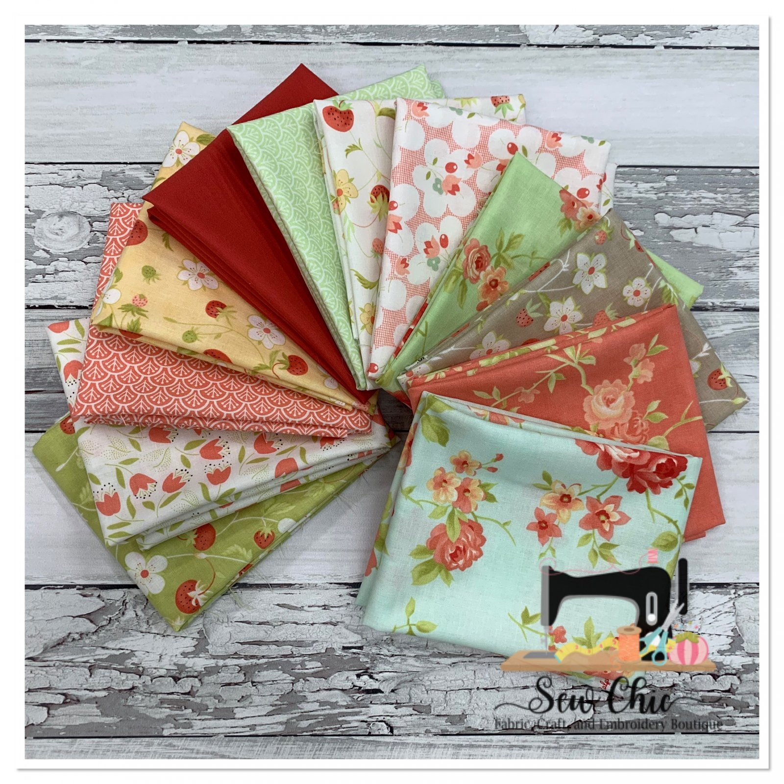 Chantilly Fat Quarter Bundle