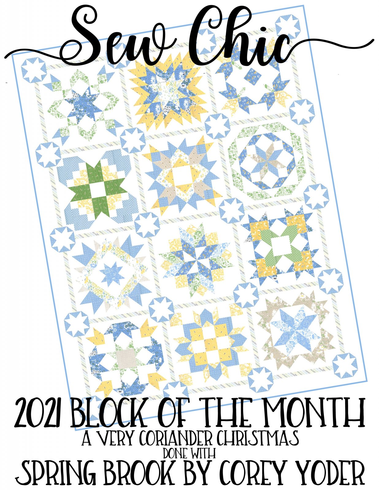 Block Of The Month 2021 Spring Brook