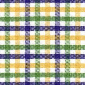 Mardi Gras Plaid Fabric Finders