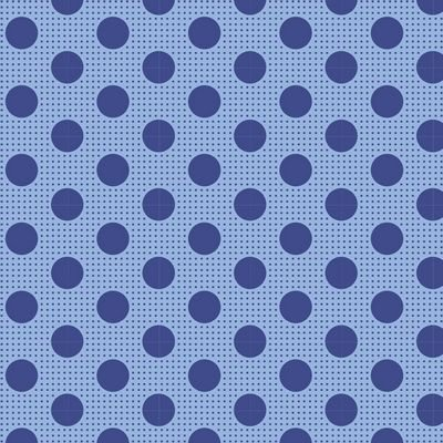 Tilda Lazy Days Blue Dots