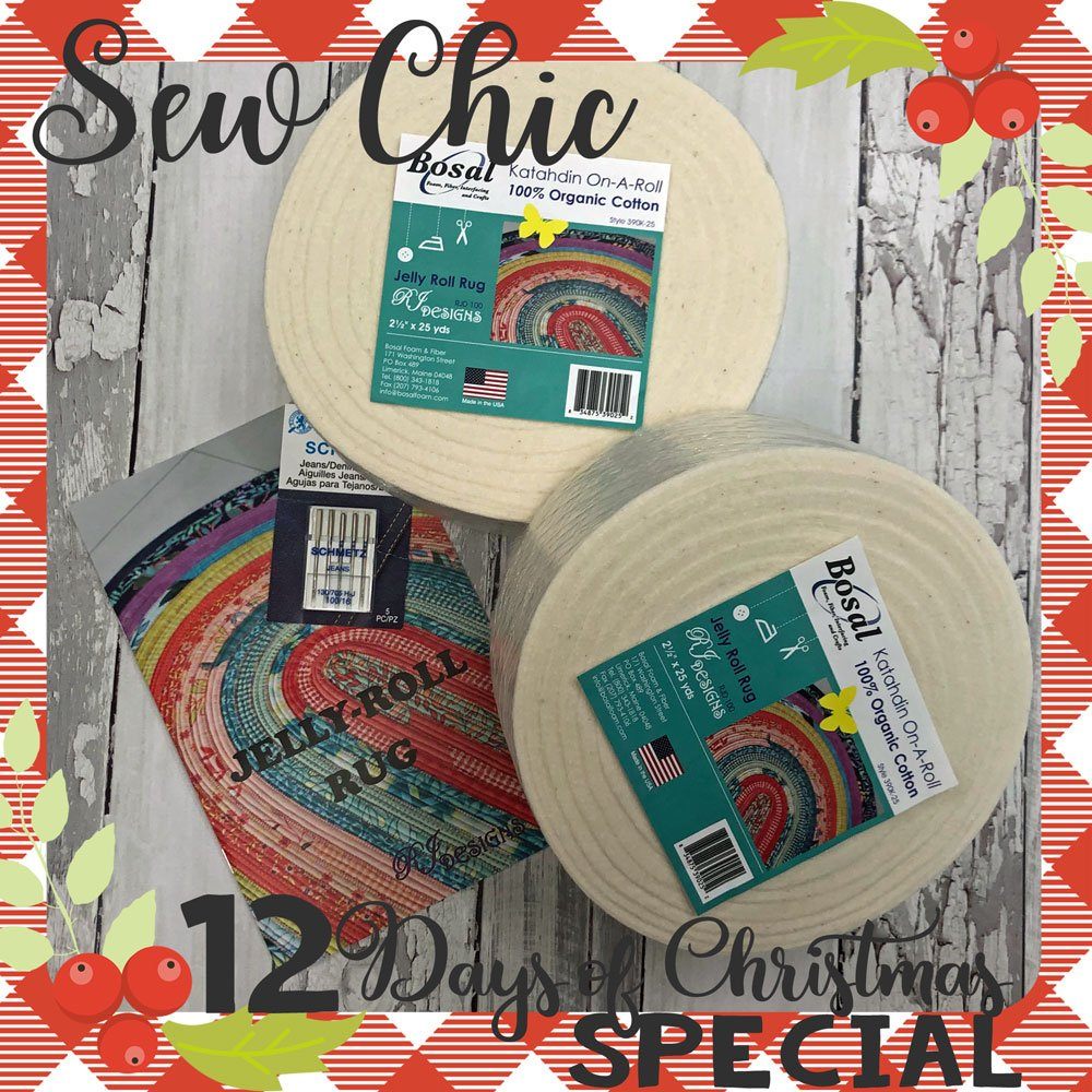 12 Days Of Christmas Jelly Roll Kit