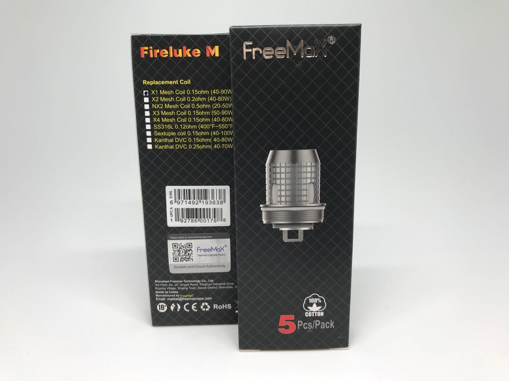 Freemax Fireluke Mesh X1 Coil