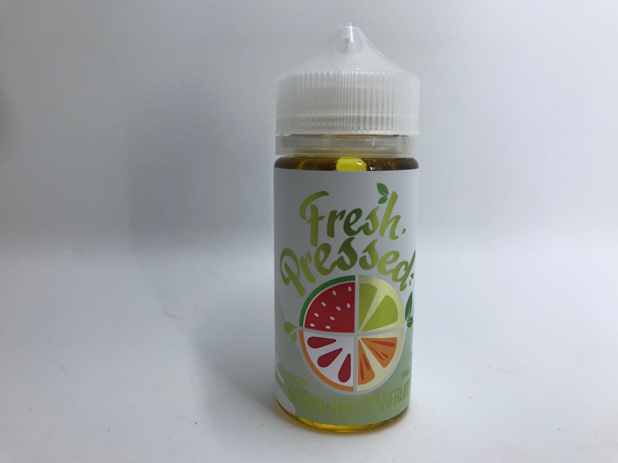 Fresh Pressed Starfruit eJuice