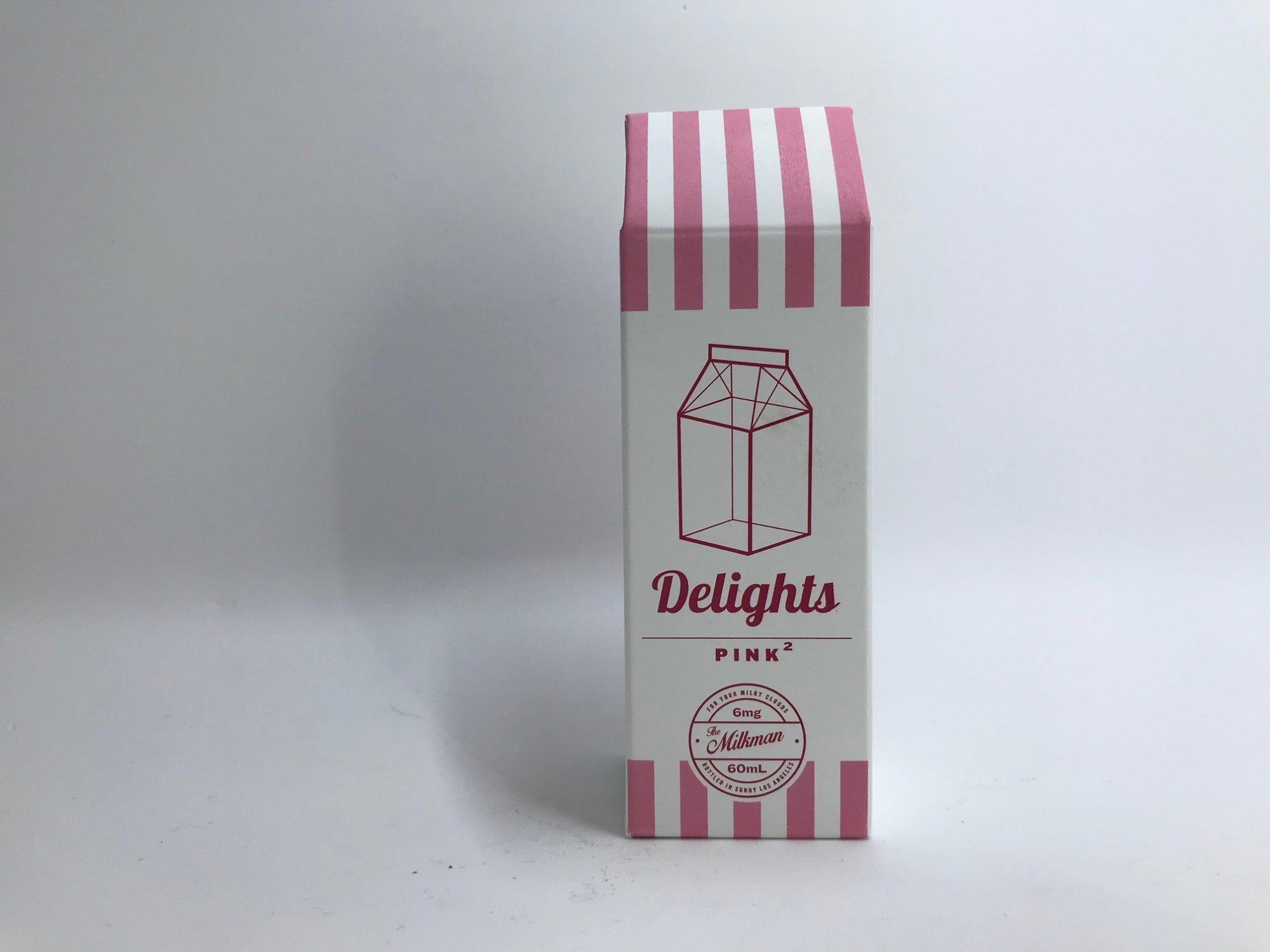Milkman Delights Pink 2 eJuice